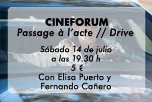 Cineforum en La Piscifactoría, con Elisa Puerto y Fernando Cañero